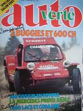 revue 1981 BUGGY STRAKIT + PUNCH + PACHIAUDI / BLAZER BAJA 1000 / 1000 LACS