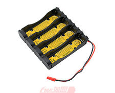 Protected Holder Case for 2S2P 7.4V 4x18650 Li-ion Battery Charge or Discharge