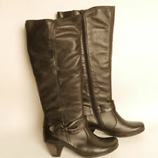 Remonte Ammemarie Knee High Boots Leather Uppers Size 3  Bow Detail RRP £100