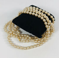 Long Vintage Necklace Faux Pearl Flapper Gatsby Style Elegant Pretty Costume