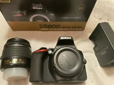 Nikon D5600 24.2 MP Digital SLR Camera - Black (Kit with 18-55mm Lens)