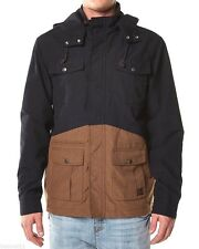 Men's BILLABONG Del Ray Zip Hooded Jacket, Size L. NWOT, RRP $129.95.