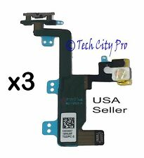 Lot of 3 iPhone 6 Power Button On Off Swtich Flex Cable Quality Apple (OEM)