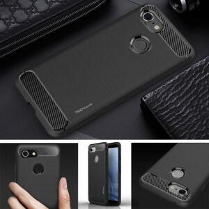 Premium Carbon Fibre Shockproof Case Cover for Google Pixel 5 4a 4 3 3a 2 XL