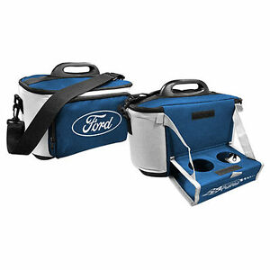 Ford Cooler Bag With Tray Drink Food Picnic Work Man Cave Bar Christmas Gift