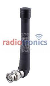 Radiotronics BNC VHF 165-174MHz Right Angle Stubby Two Way Radio Antenna