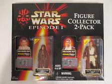 Star Wars Episode I Figure Collector 2-Pack Anakin Obi Wan New cardboard open