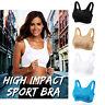 Sports Bra Yoga Running Activewear Workout Vest Crop Tops Wirefree Plus Size Bra