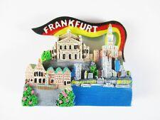 Francoforte MAGNETE FRIGO VIAGGIO SOUVENIR Germania, Römer, Skyline, opera