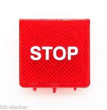 Interrupteur symbole bouclier rouge prise de courant stop herméti HELLA étroitement symbole vitre