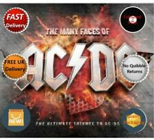 AC/DC The Many Faces Of AC/DC Red 2x Red Vinyl LP NEW / Sealed 7798093712278