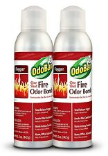 Odoban One-Shot Fire Odor Bomb Fogger 5 Oz 2 Pk Great For The Home Office