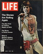 LIFE July 14 1972 Jagger, Rolling Stones, Bobby Fischer Iceland, Frank Gehry