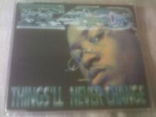 E-40 - THINGS'LL NEVER CHANGE - 1997 HIP HOP CD SINGLE - E40