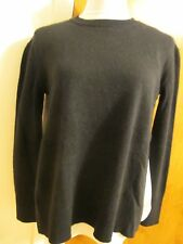 Bloomingdale's women's black cashmere sweater XS