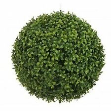 "20"" ARTIFICIAL BOXWOOD BALL TOPIARY UV OUTDOOR PLANT POOL 2 4 3 PATIO TREE PORCH"