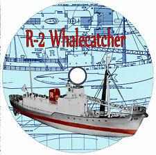 MODEL SHIP PLANS R2 WHALECATCHER  ARTICLE & PLANS