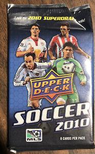 2010 Upper Deck MLS Soccer Jersey/Patch/Relic Hot Pack Beckham?