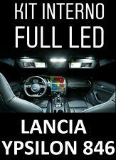 KIT LED INTERNI LANCIA NEW YPSILON Y (846) CONVERSIONE COMPLETA + LED TARGA OP