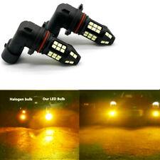 Pair 3000K/Amber 100W LED Fog Lights For ACURA TL 2002 2003 2004 2005 2006