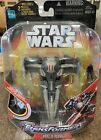 Hasbro STAR WARS TRANSFORMERS Crossover Darth Maul Sith Infiltrator NEW For Sale