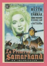 2008 Spanish Pocket Calendar #210 The Golden Horde Film Poster Ann Blyth