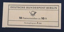"""Berlin Markenheftchen Mi-Nr. 3 b """"Vergissmeinnicht"""" postfrisch 850 Euro"""