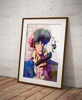 Black Rock Shooter Anime Poster Watercolor Wall Art  Otaku Print Anime Poster R2