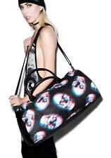 IRON FIST Skull of Doom Duffle Bag 3D Extra Large Handbag RARE NWT Ladies Unisex