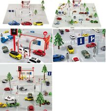 Siku World 5501 incl. Mini (1454), VW Beetle (1417) und Mercedes SLS (1445) 1:50