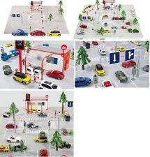 Siku World 5501 incl. Mini (1454), VW Beetle (1417) und Mercedes SLS (1445) 1:50