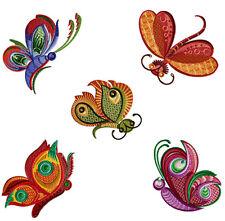 "ABC Designs Dancing Butterflies Machine Embroidery SET 4""x4"" hoop - 5 designs"