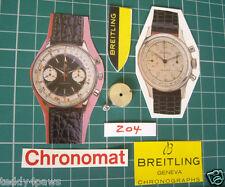 1950s-60s Venus 188 Barrel & Arbor. Breitling Chronomat Premier Cadet TopTime