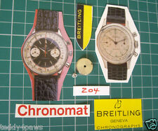 1950s-60s Barril de Venus 188 Breitling Chronomat premier & Arbor. Cadete toptime