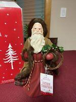 Hallmark 2016 Keepsake Father Christmas Santa Figure Table Decoration  W/ Box