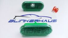 VW GOLF/JETTA MK4 POLO UP PASSAT T5 AMAROK SEAT GREEN FENDER SIDE MARKER LIGHTS