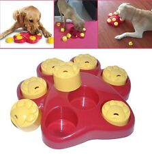 Outward Hound Pet Dog Paw Food Dispensing Hide Scent Puzzle Training Toy Treat