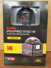 Brand New - Kodak PixPro SP360 4K HD Video Action Camera Camcorder-Premier Pack