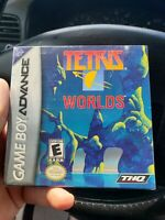 Tetris Worlds Nintendo Game Boy Advance GBA Complete In Box CIB Game Manual