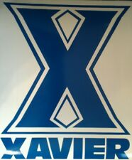XAVIER University CORNHOLE BOARD DECALS -  CORNHOLE DECALS Vinyl Vehicle Decals