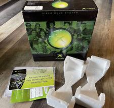 Microsoft Original Xbox Console Box Only! W/ Styrofoam Manuals Inserts