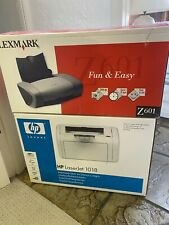 hp laserjet 1018 black and white printer - boxed and not used
