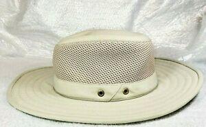 The Tilley Lightweight Airflo Mesh Hiker Hat Broad Brim Khaki/Olive MultiTasker