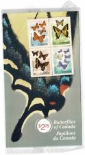 CANADA 1988 CANADIAN BUTTERFLIES BLOCK OF 4 SOUVENIR FOLDER MINT NEVER HINGED