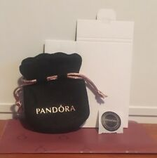 Pandora Felt Pouch Bag + Small Box, Sticker And Red Tissue