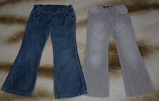 FRENCH IKKS GIRLS JEANS Size 5-6 Lot of 2