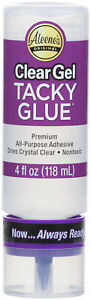 Aleene'S Always Ready Clear Gel Tacky Glue-4Oz