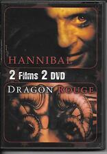 2 DVD ZONE 2 / 2 FILMS--DRAGON ROUGE & HANNIBAL--SCOTT/RATNER/