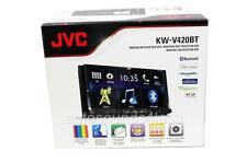 "New JVC KW-V420BT DVD/CD Player 7"" Touchscreen LCD Bluetooth SiriusXm Ready New"