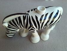 LEGO Duplo Zebra Zoo Safari Tier schwarz weiss gestreift Pferd 6157 6158 4961